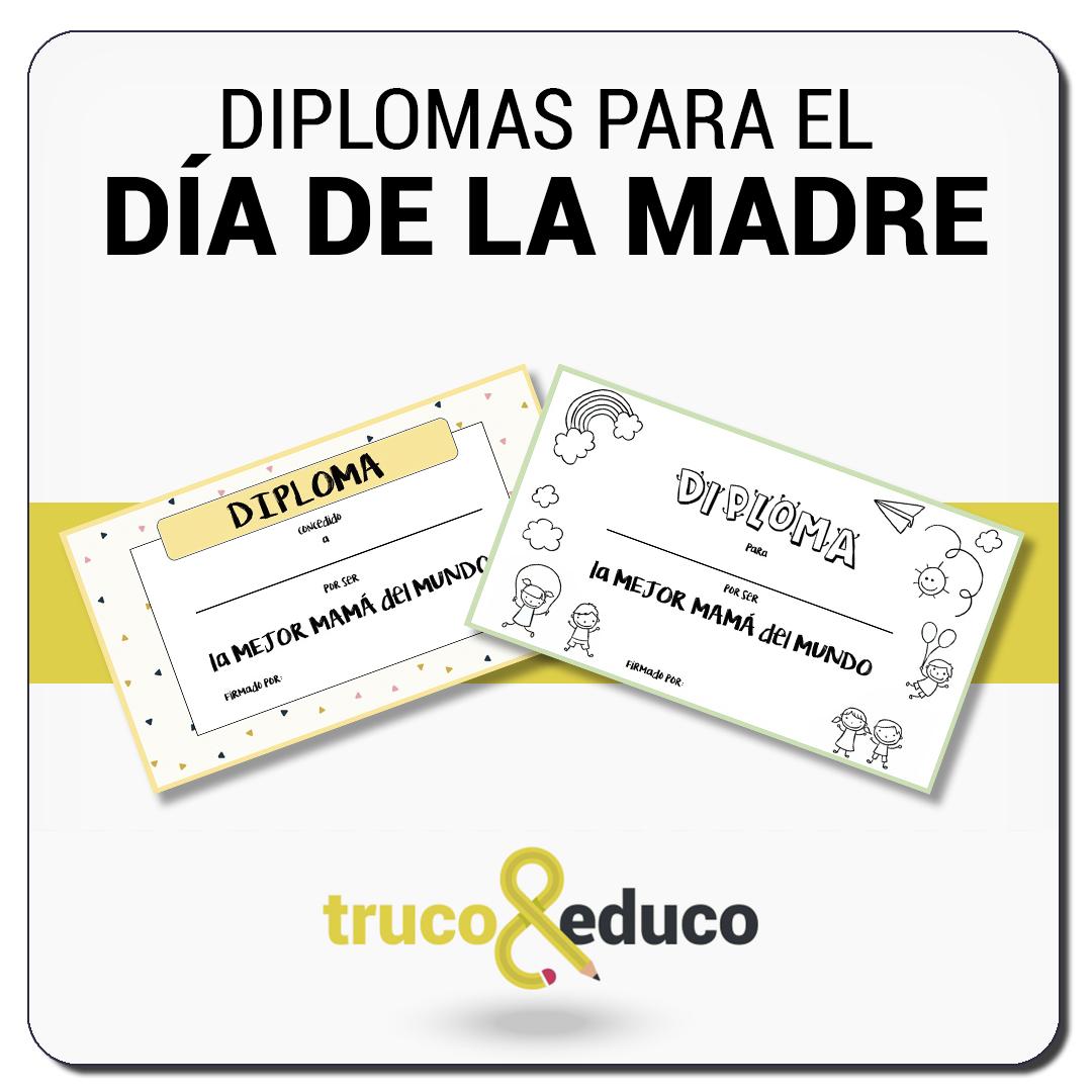 Diplomas para del Día de la Madre
