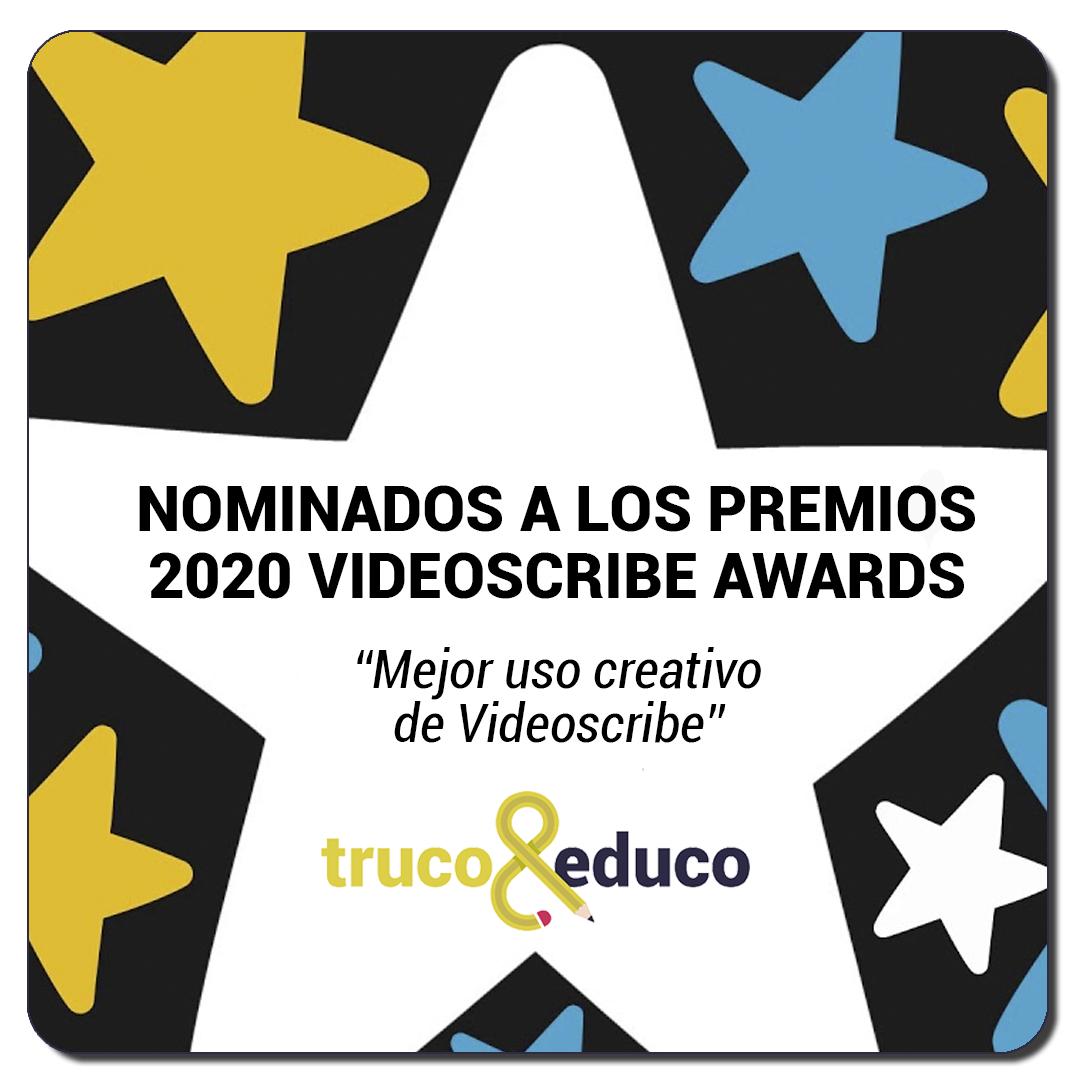 Nominación a los premios Videsocribe 2020