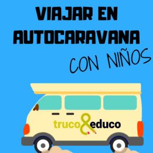 Viajar en autocaravana con niños